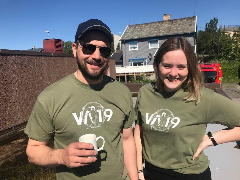 Bilde av t-skjortene våre
